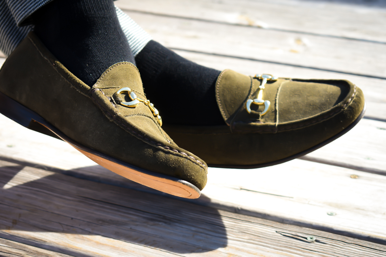 Jay Butler Bit Loafers