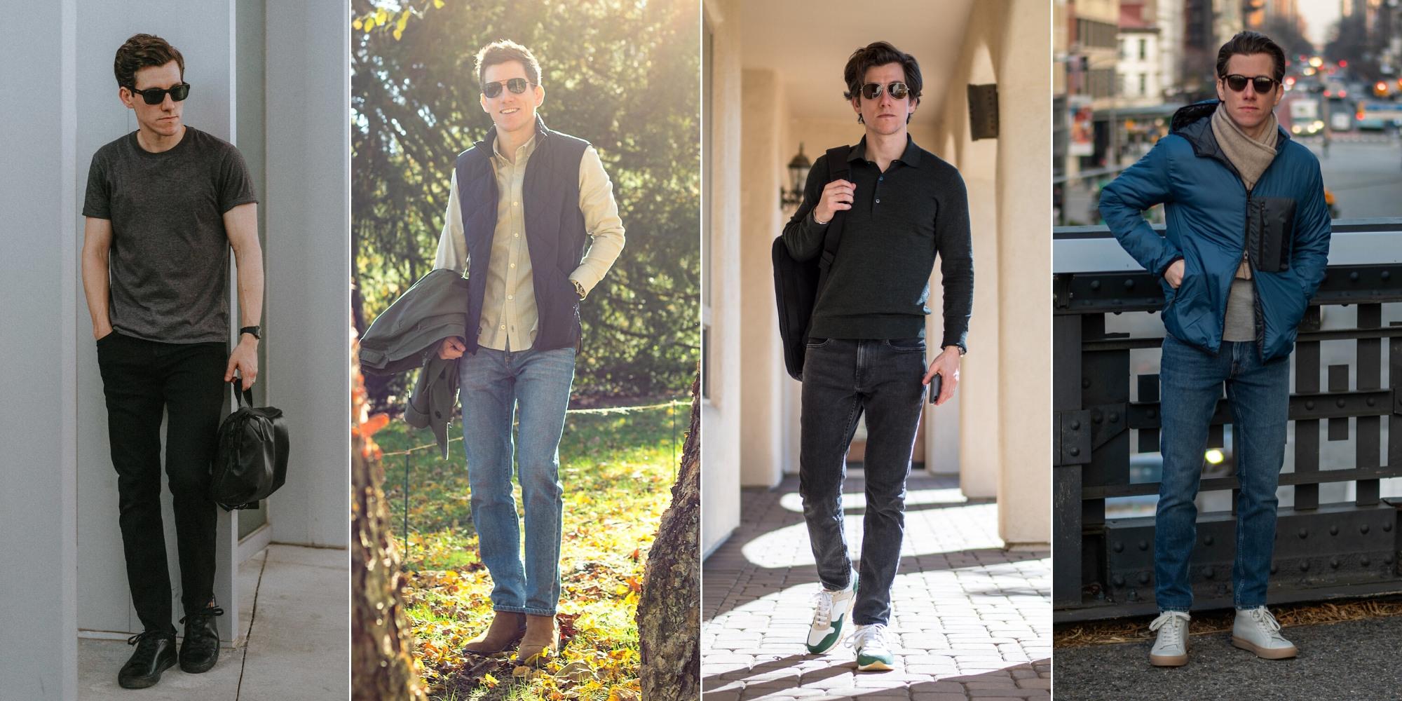 Jeans for shorter guys