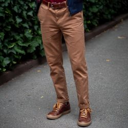 Chinos for short men