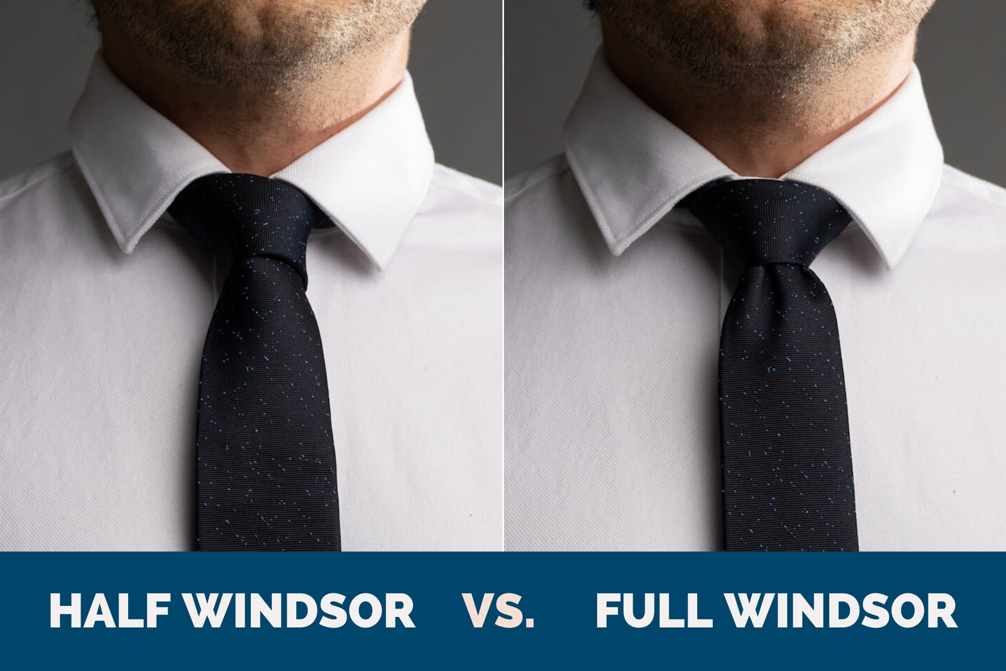 How to Tie a Full Windsor Knot (a.k.a., Double Windsor ...