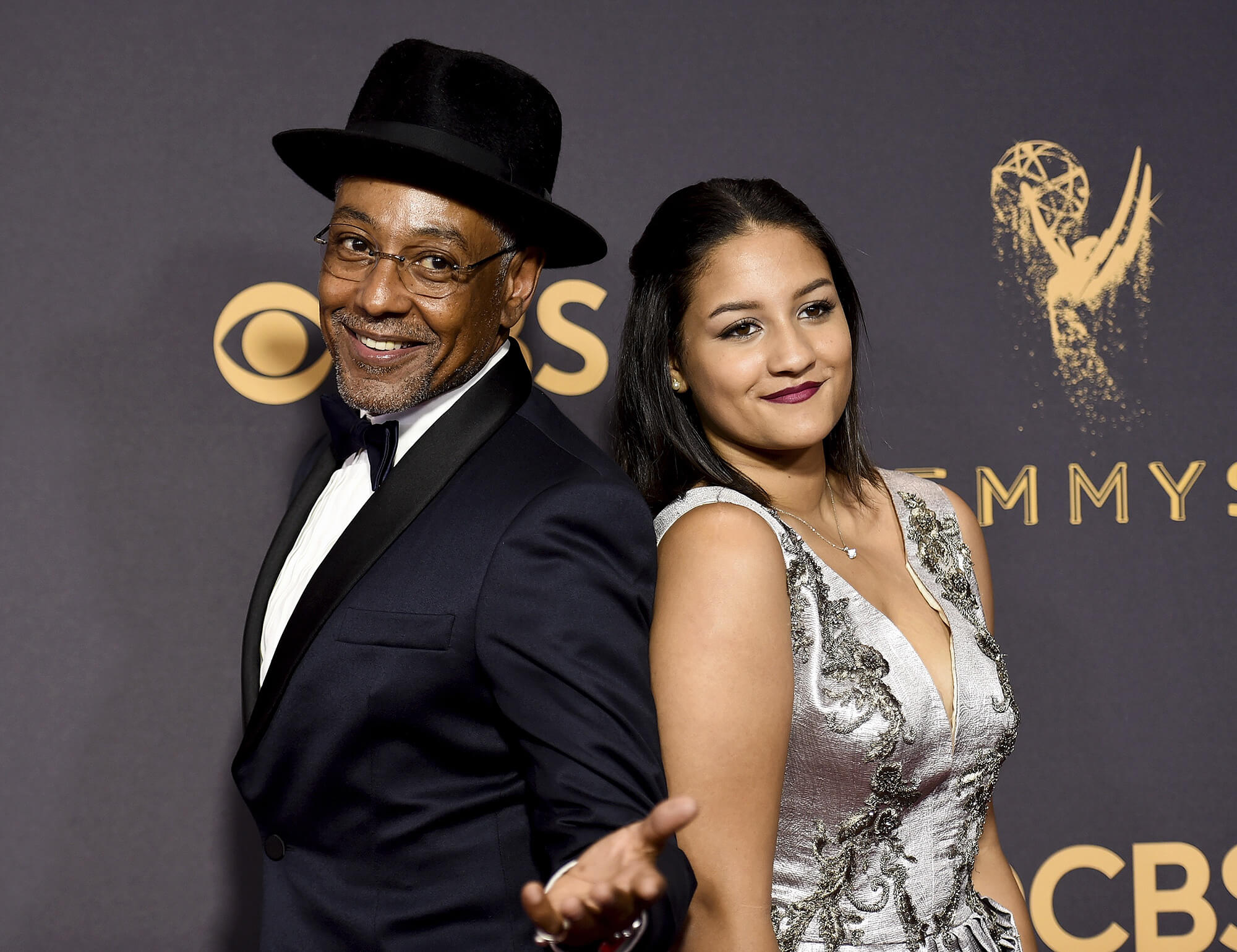 Giancarlo Esposito and his daughter