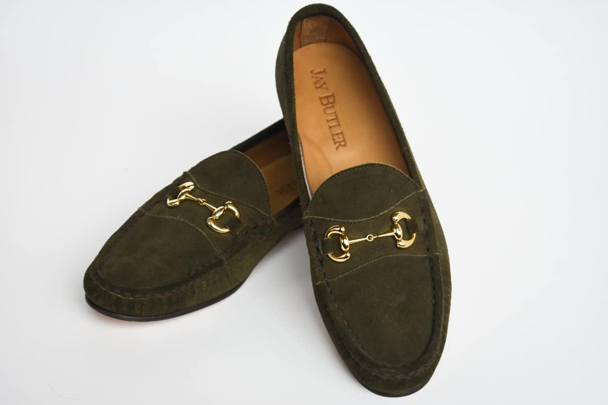 Jay Butler Suede loafers