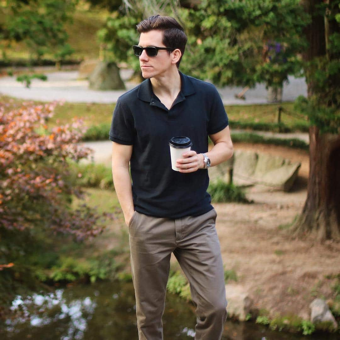 How to Wear a Polo Shirt: 11 Outfit Ideas for Guys - The Modest Man
