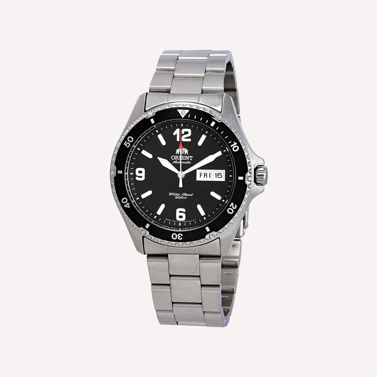 Orient Men s Mako II Japanese Automatic Stainless Steel Diving Watch