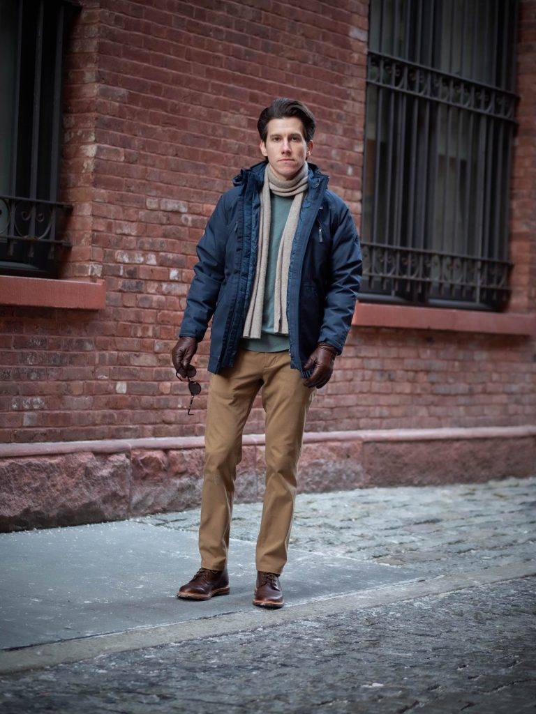 Patagnonia Parka with Boots
