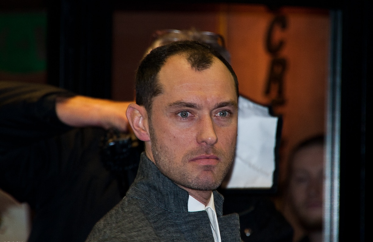 Jude Law hairline