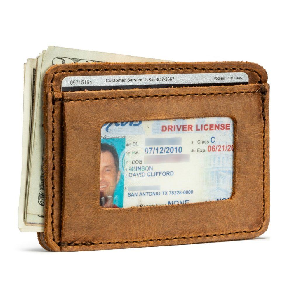 Saddleback Front Pocket ID Wallet
