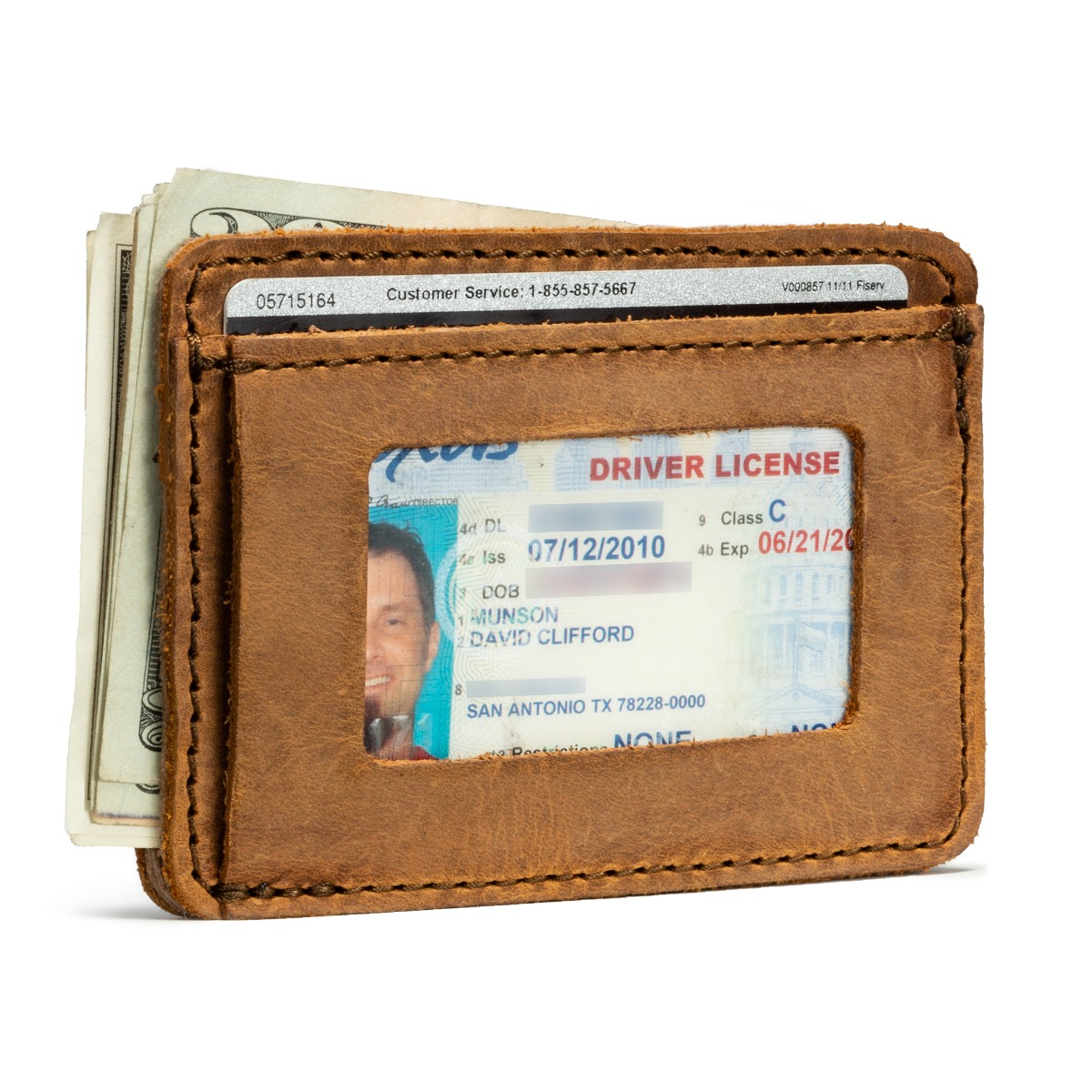 Saddleback Front Pocket ID Wallet