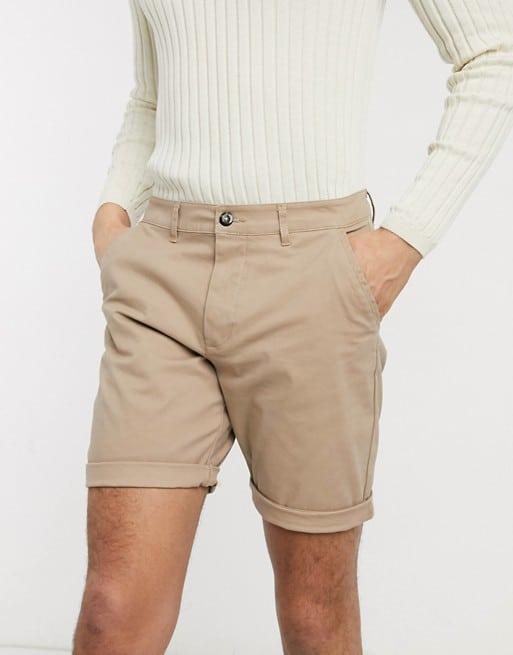 ASOS DESIGN Slim Chino Shorts