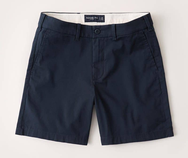 Abercrombie & Fitch Stretch Chino Shorts