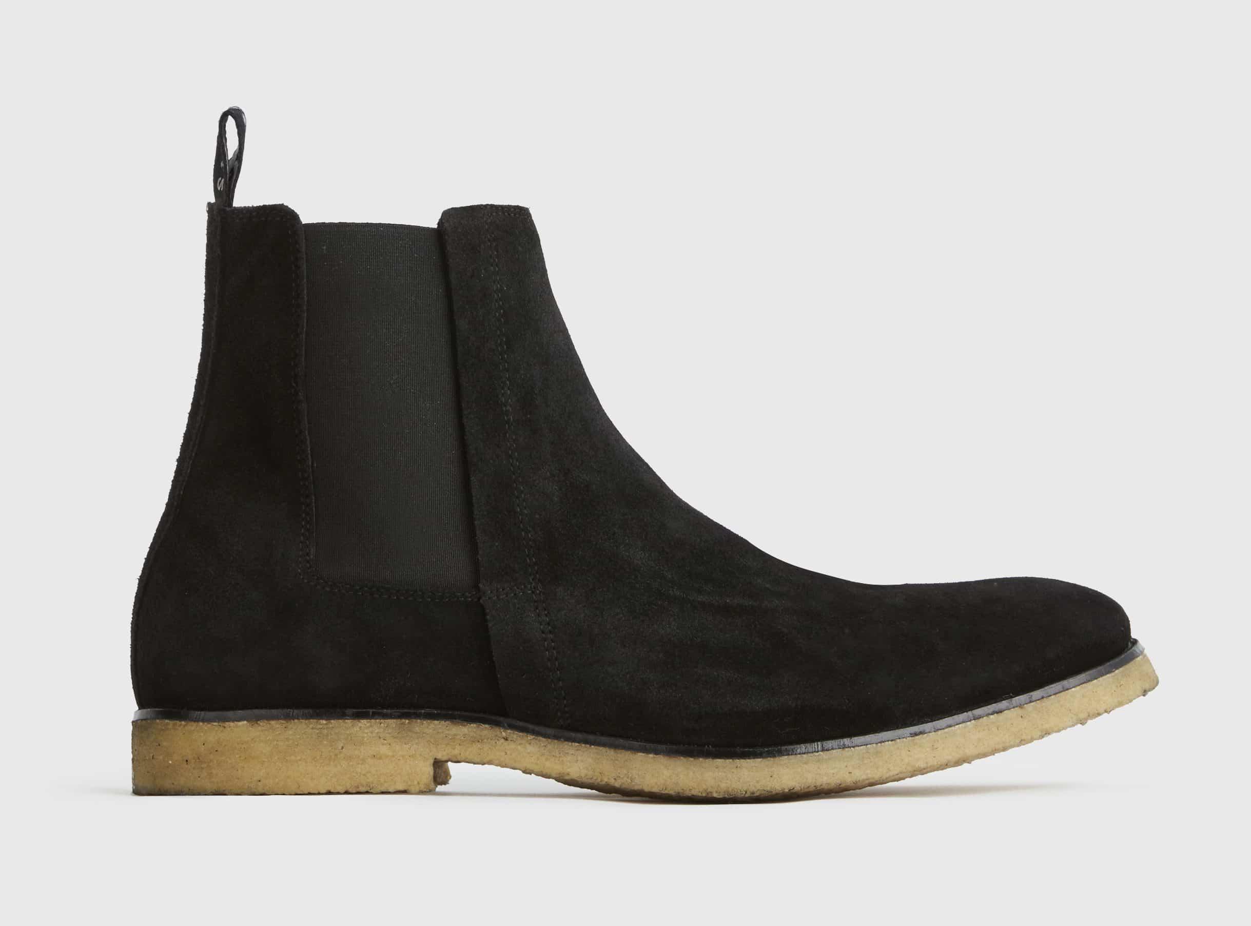 AllSaints Rhett Suede Chelsea Boots