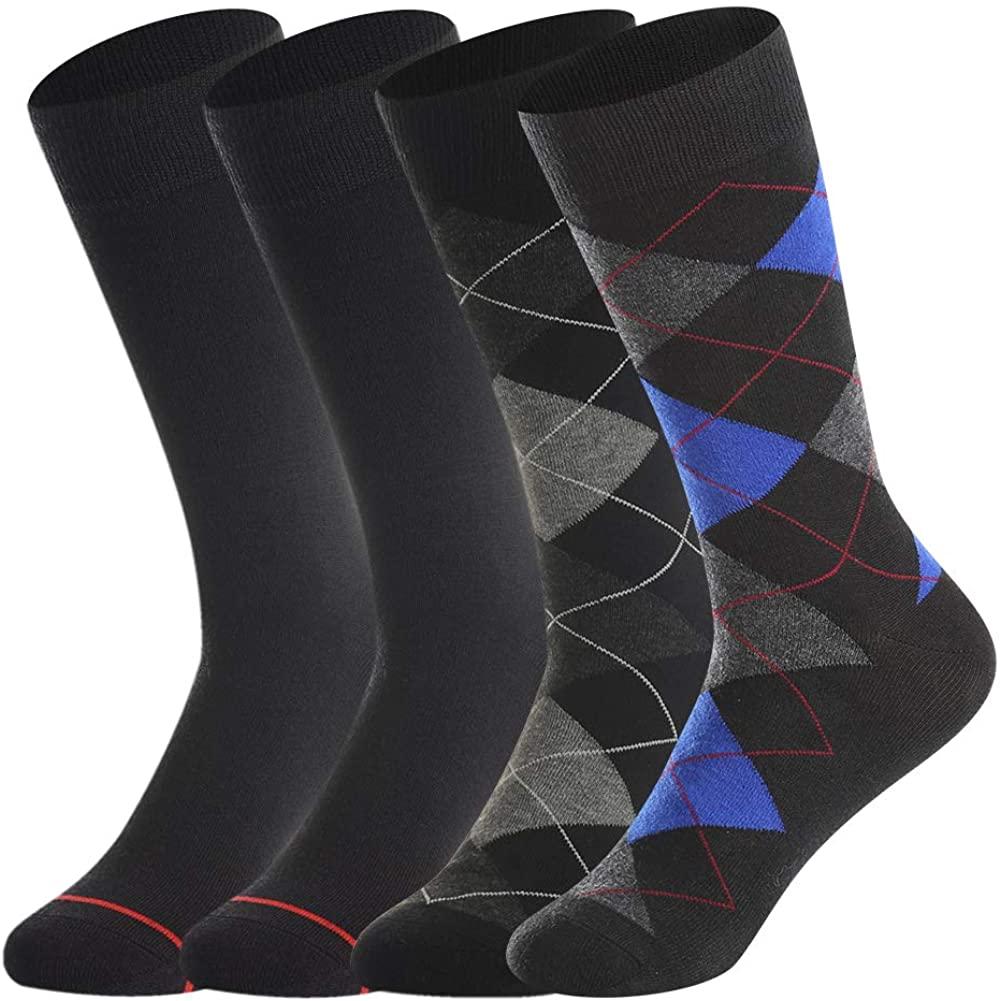 Bonangel Men's Merino Wool Dress Socks