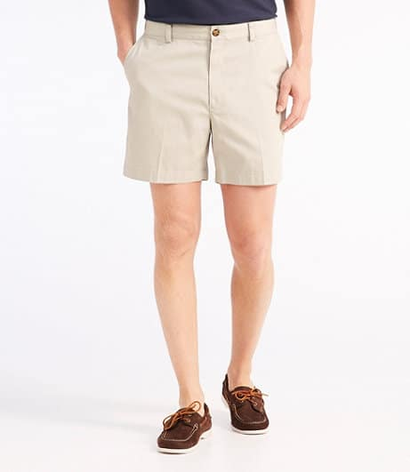 L.L Bean Double L Chino Shorts