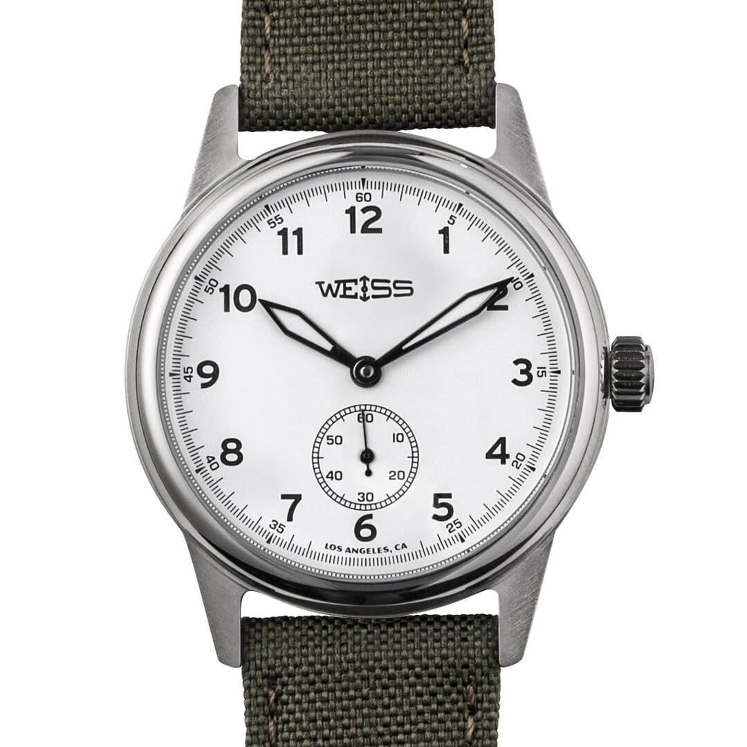 Weiss 38mm Standard Issue Field Watch