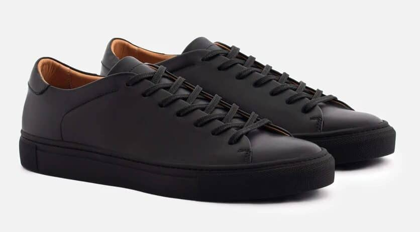 black Reid sneakers