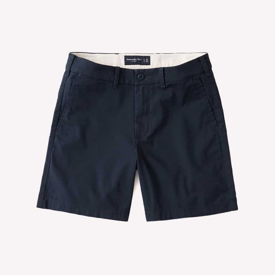Abercrombie Fitch Stretch Chino Shorts e1593080176707