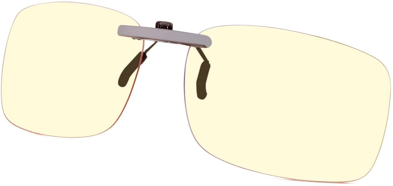 GAMEKING Ultra Blue Light Blocking Clip-on Glasses
