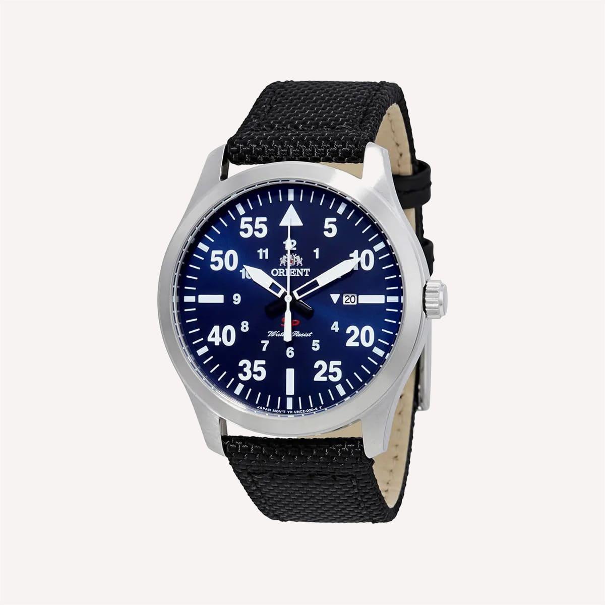 Orient Flight Blue Dial