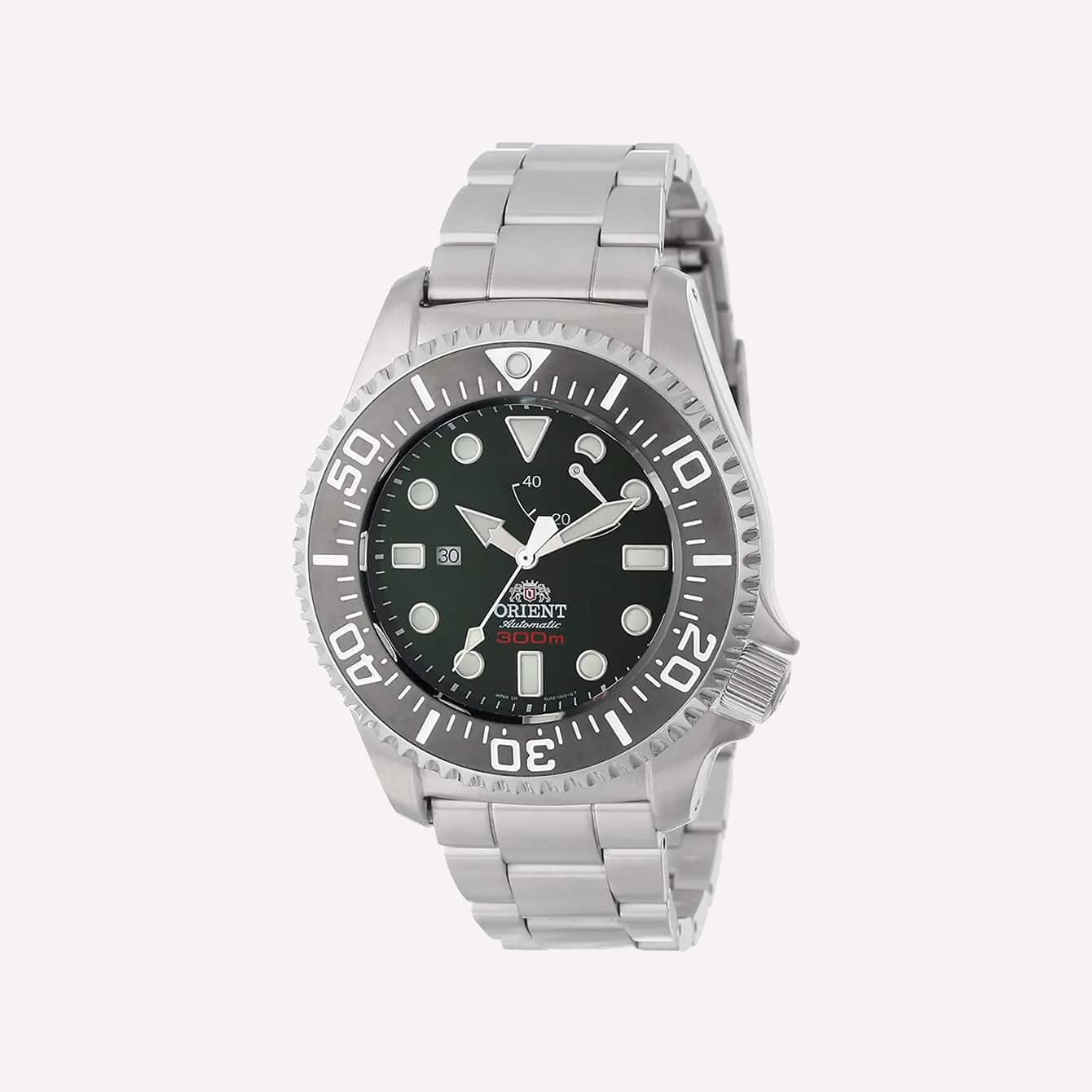 Orient Men s SEL02002B0 Pro Saturation 300M ISO Certified Professional Divers Watch
