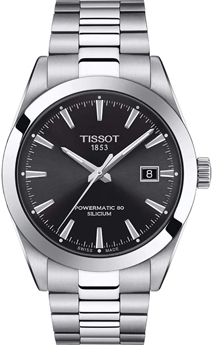 Tissot Swiss Automatic Stainless Steel Dress Watch