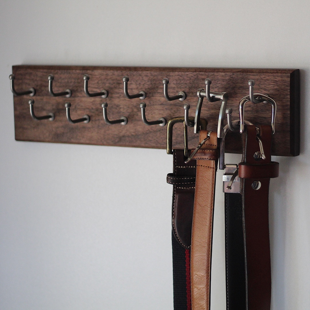 Brock's belt rack