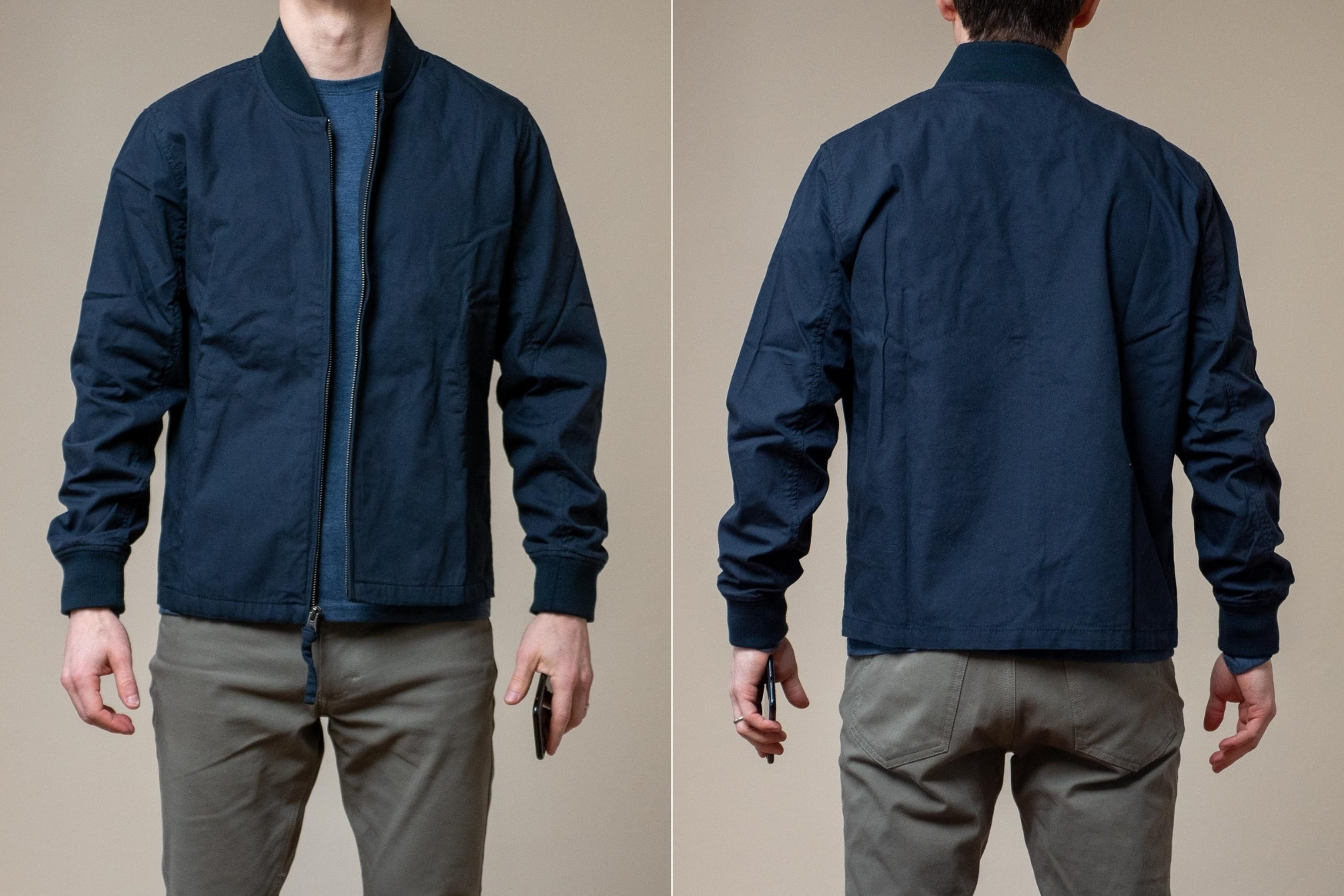 Ash and Erie Bomber Jacket