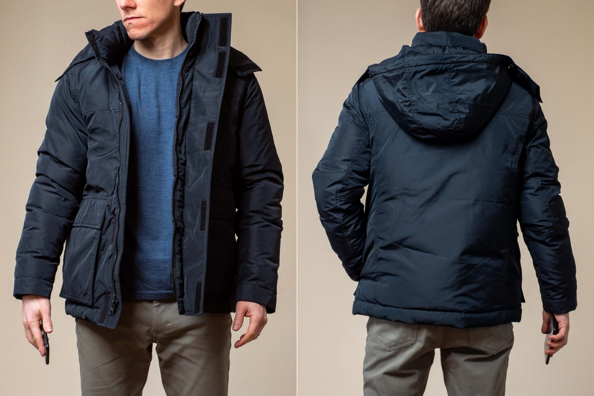 Ash and Erie Winter Parka