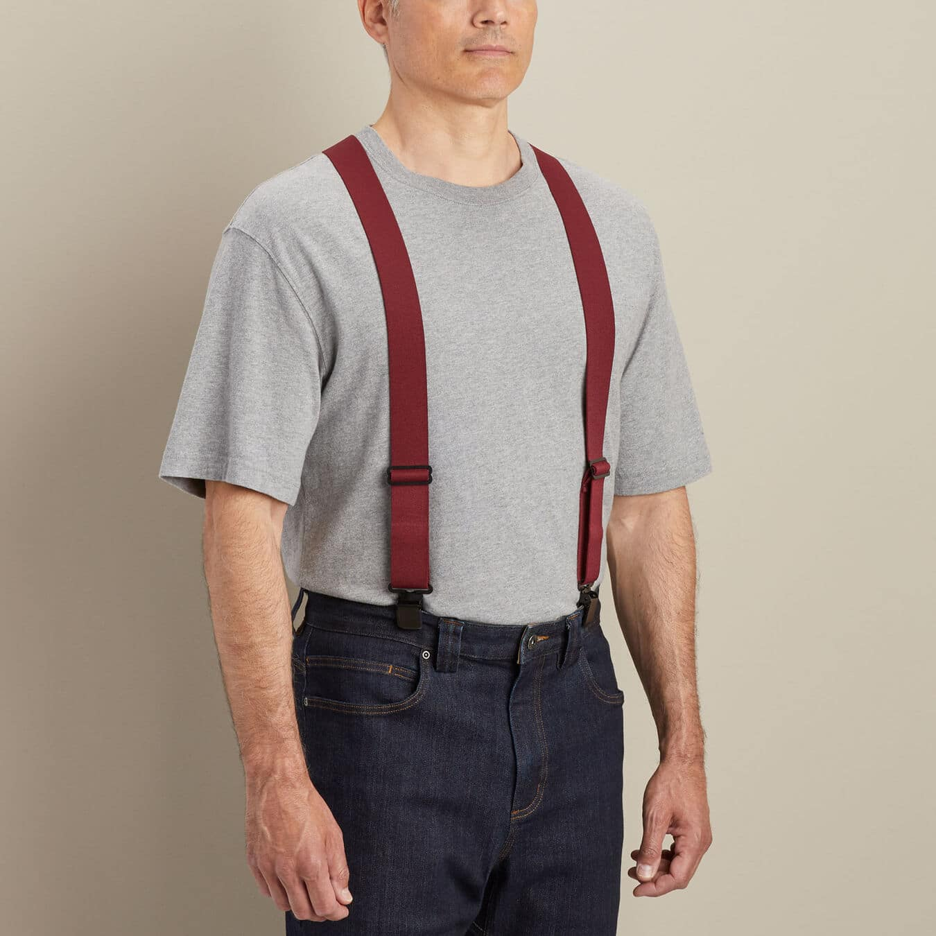 Duluth Trading Men's Thin Clip Suspenders