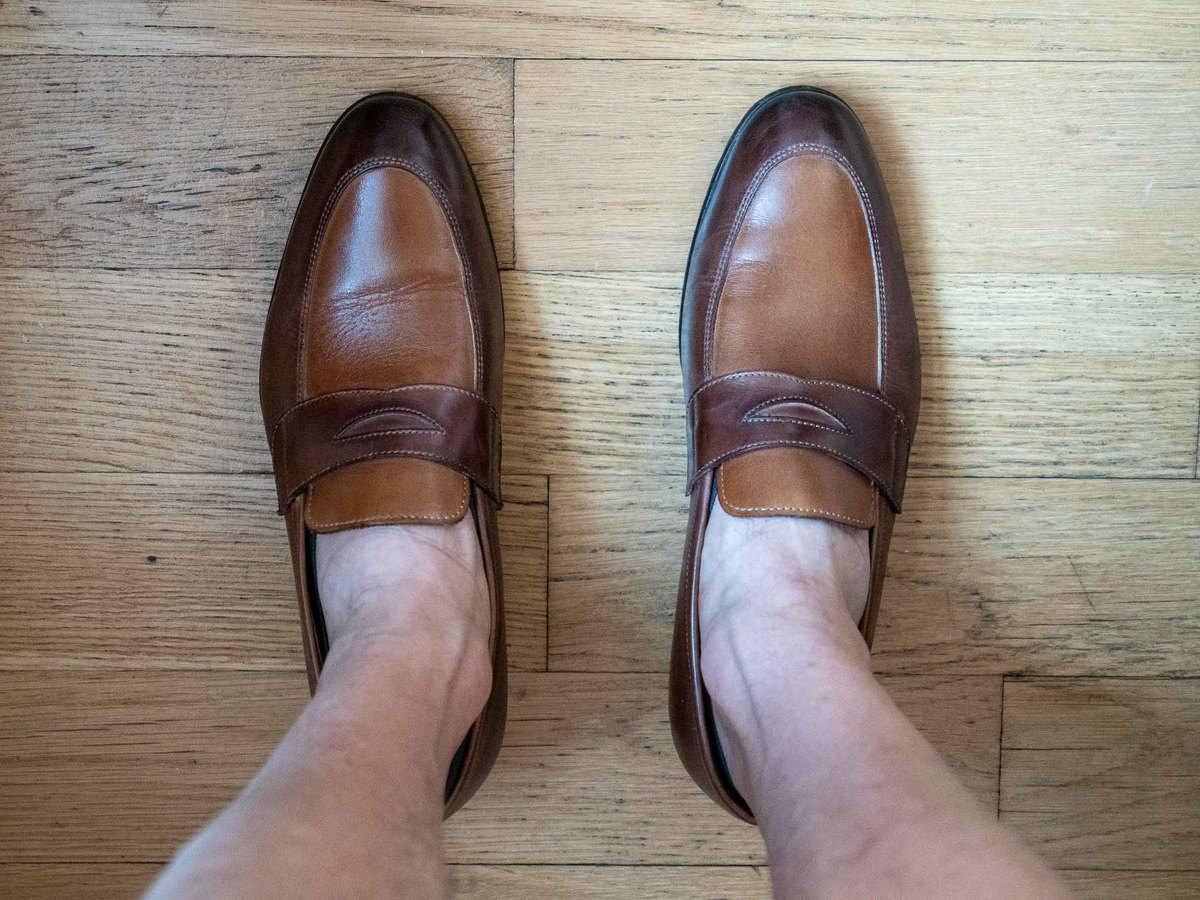 Invisasox with loafers