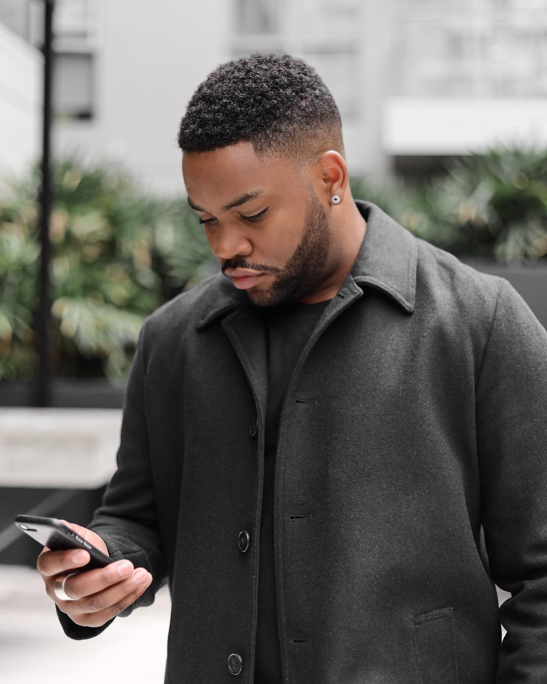 business hairstyles - clean fade