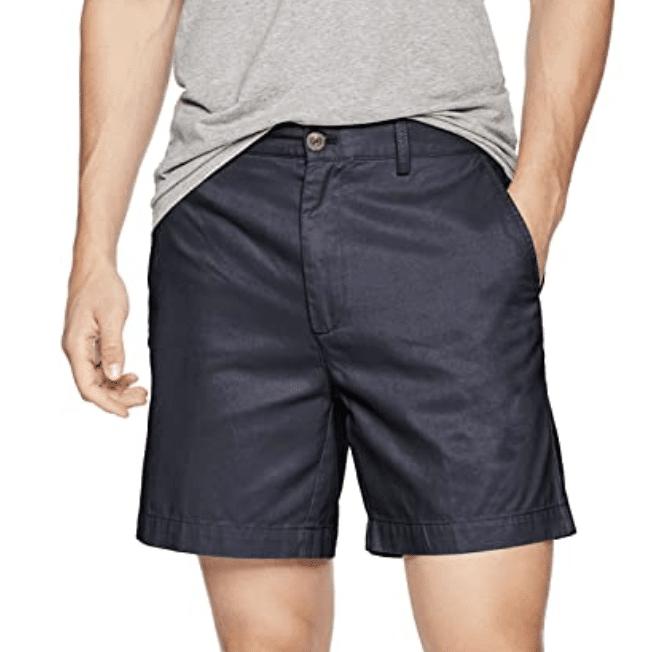 "Amazon Essentials Slim-Fit 7"" Chino Shorts"