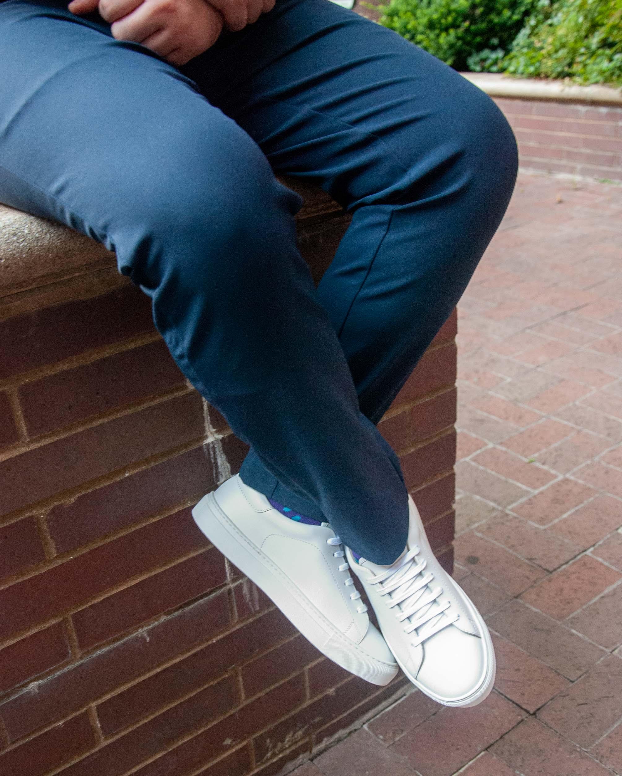Idrese Nuno leather sneakers