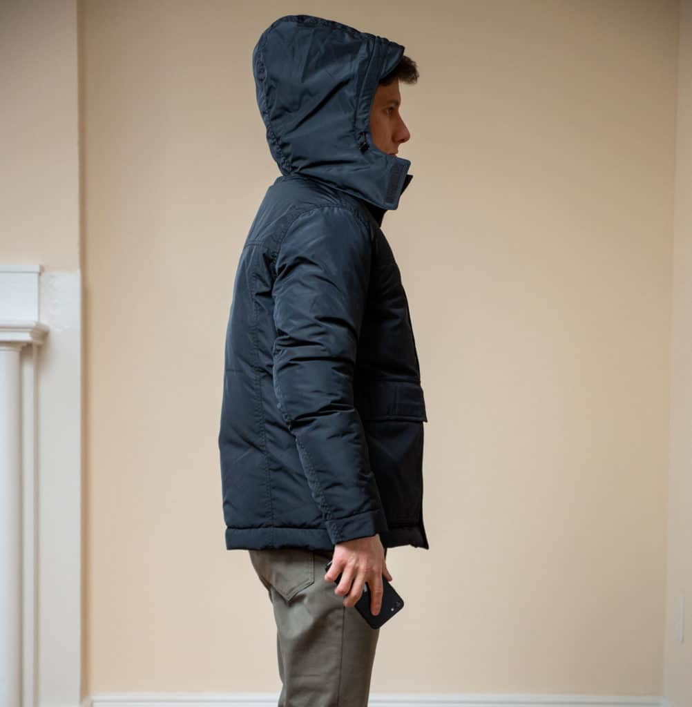 Ash and Erie Winter Parka fit