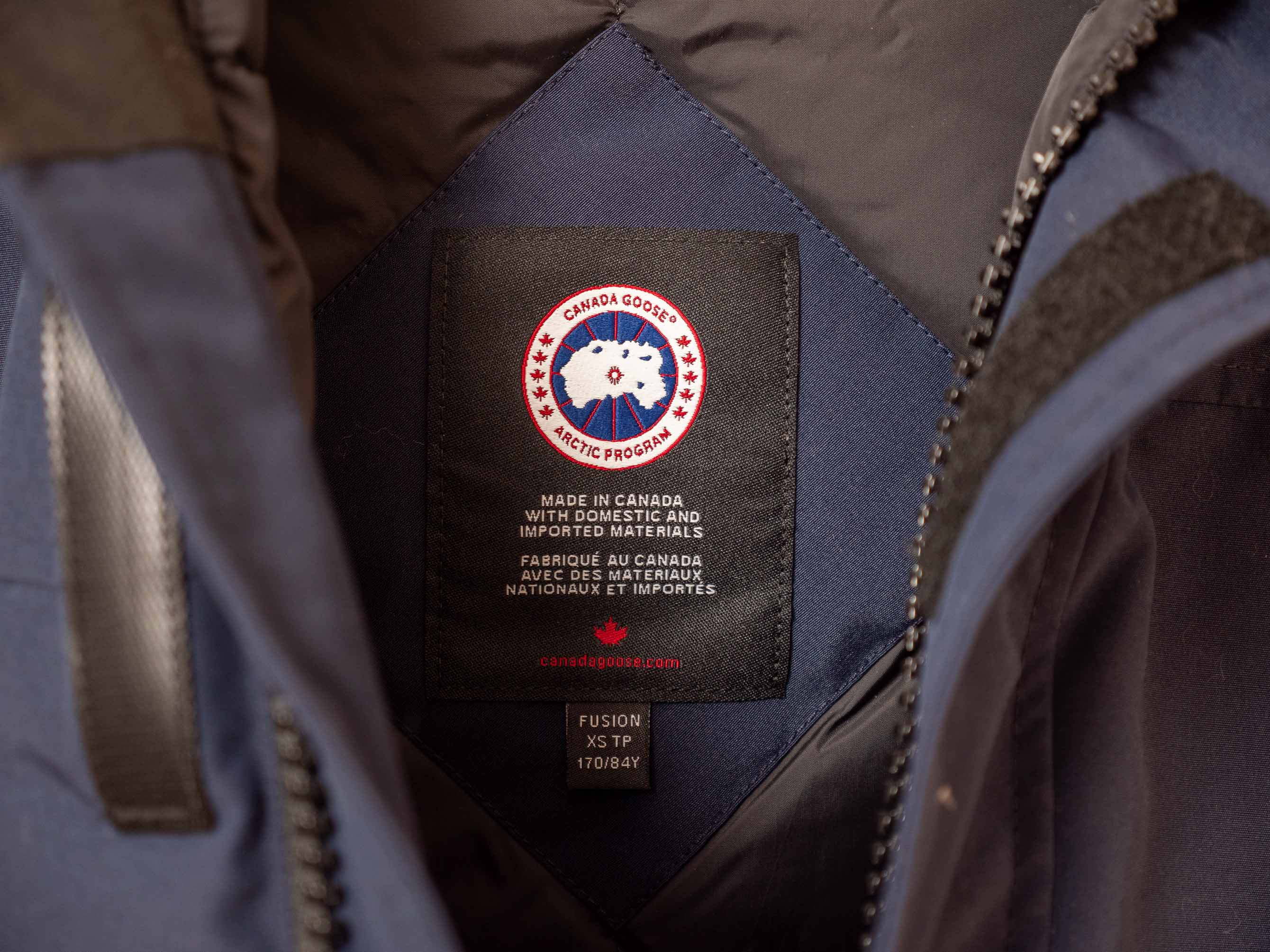 Canada Goose Fusion Fit XS