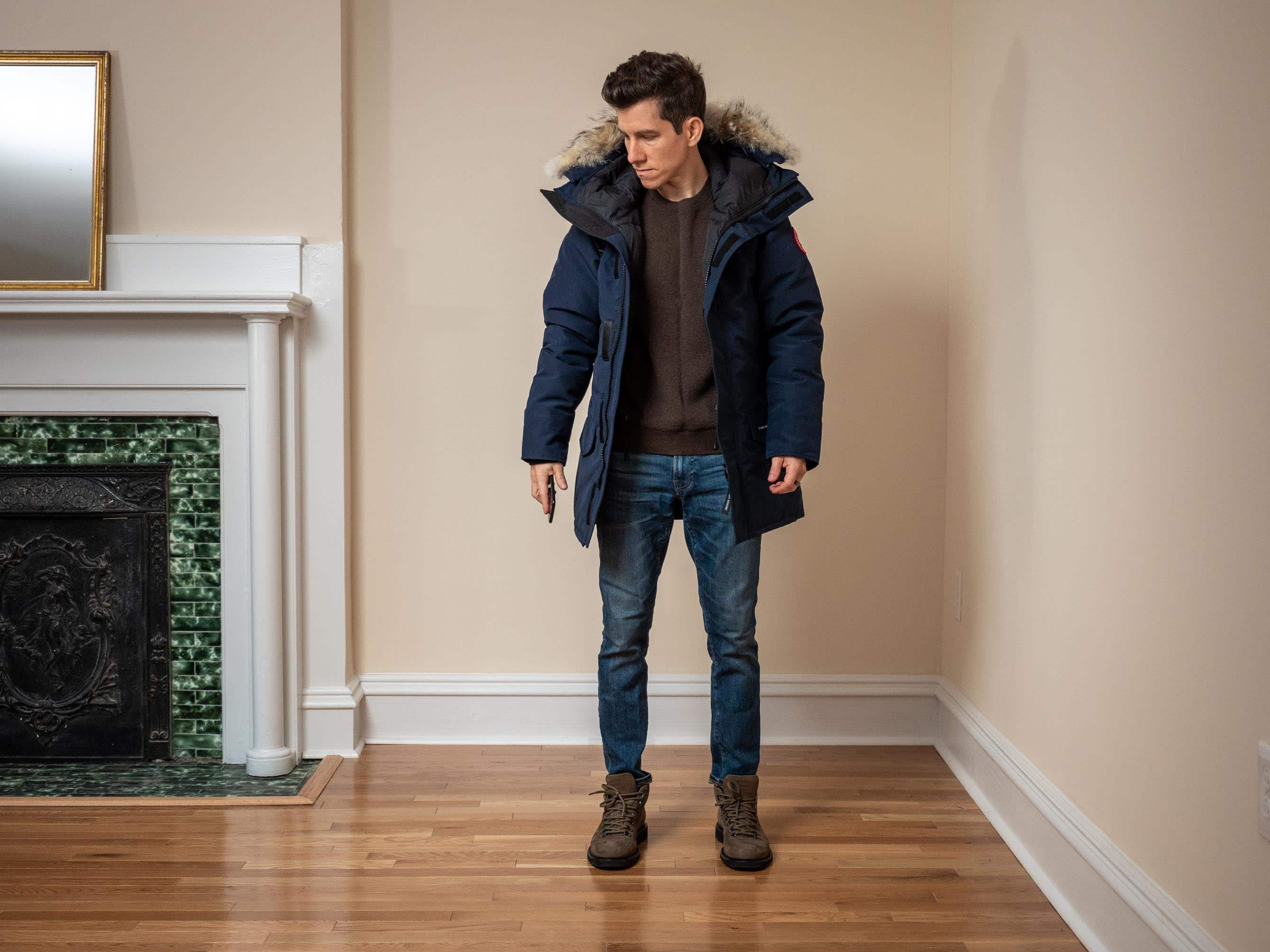 Canada Goose Fusion Fit front open