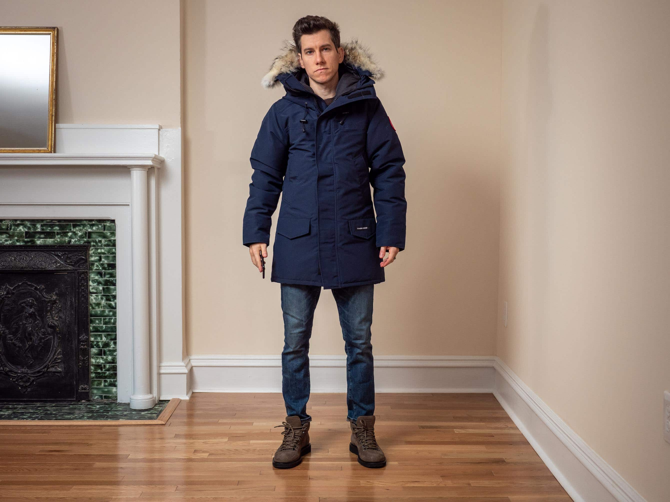 Canada Goose Langford Parka Fusion Fit front zipped 2