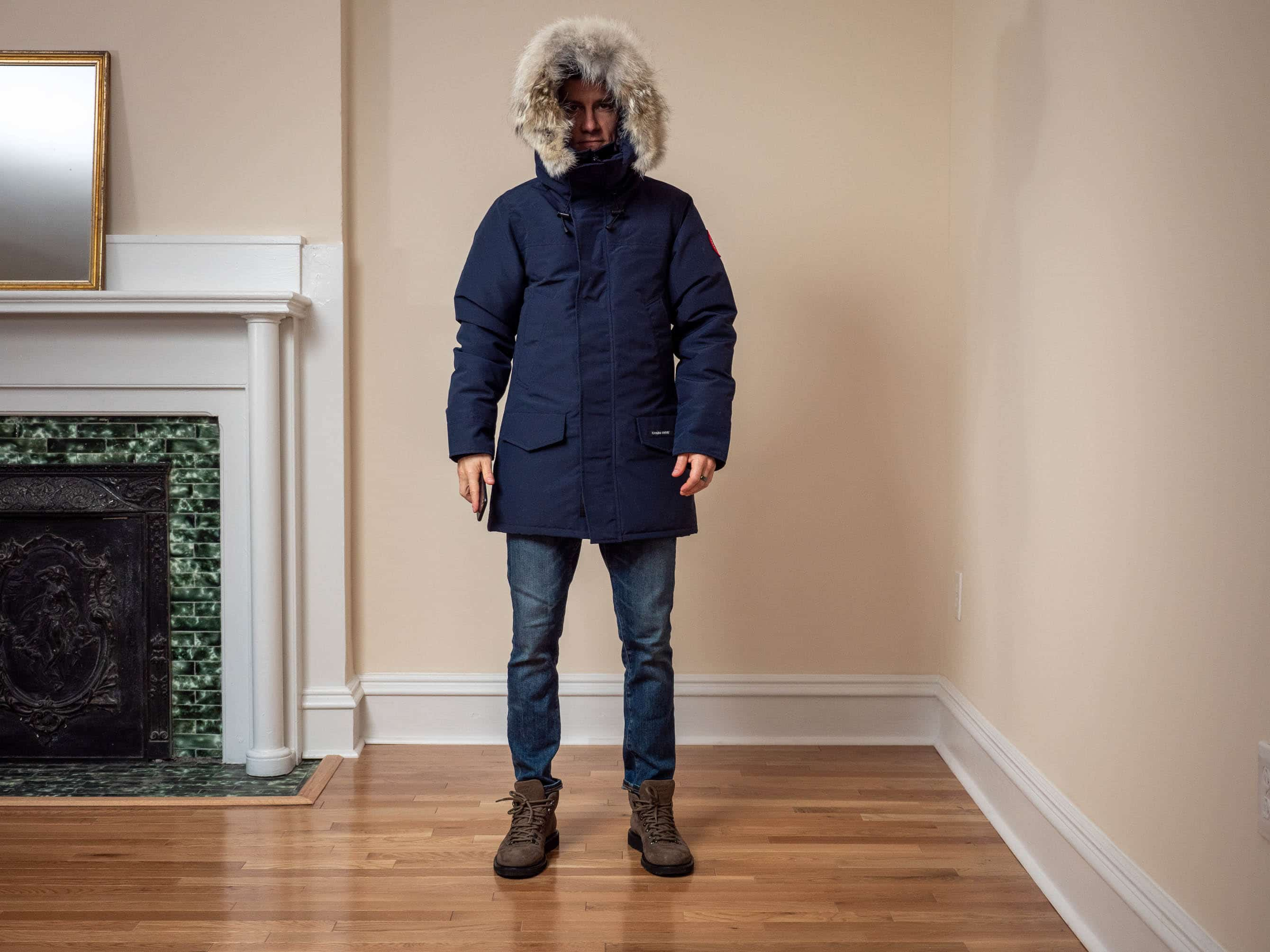 Canada Goose Fusion Fit hood up