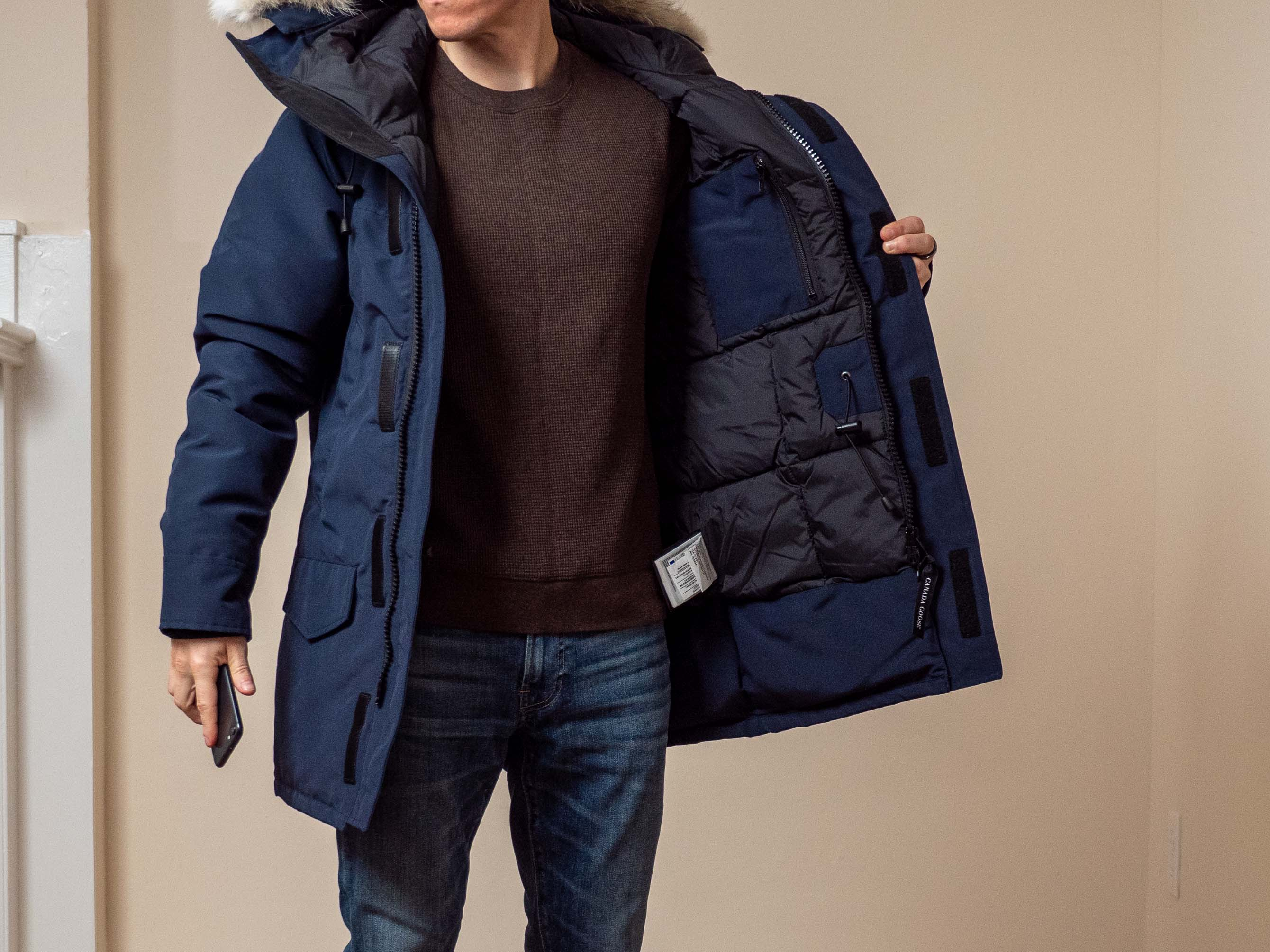 Canada Goose Fusion Fit inside jacket