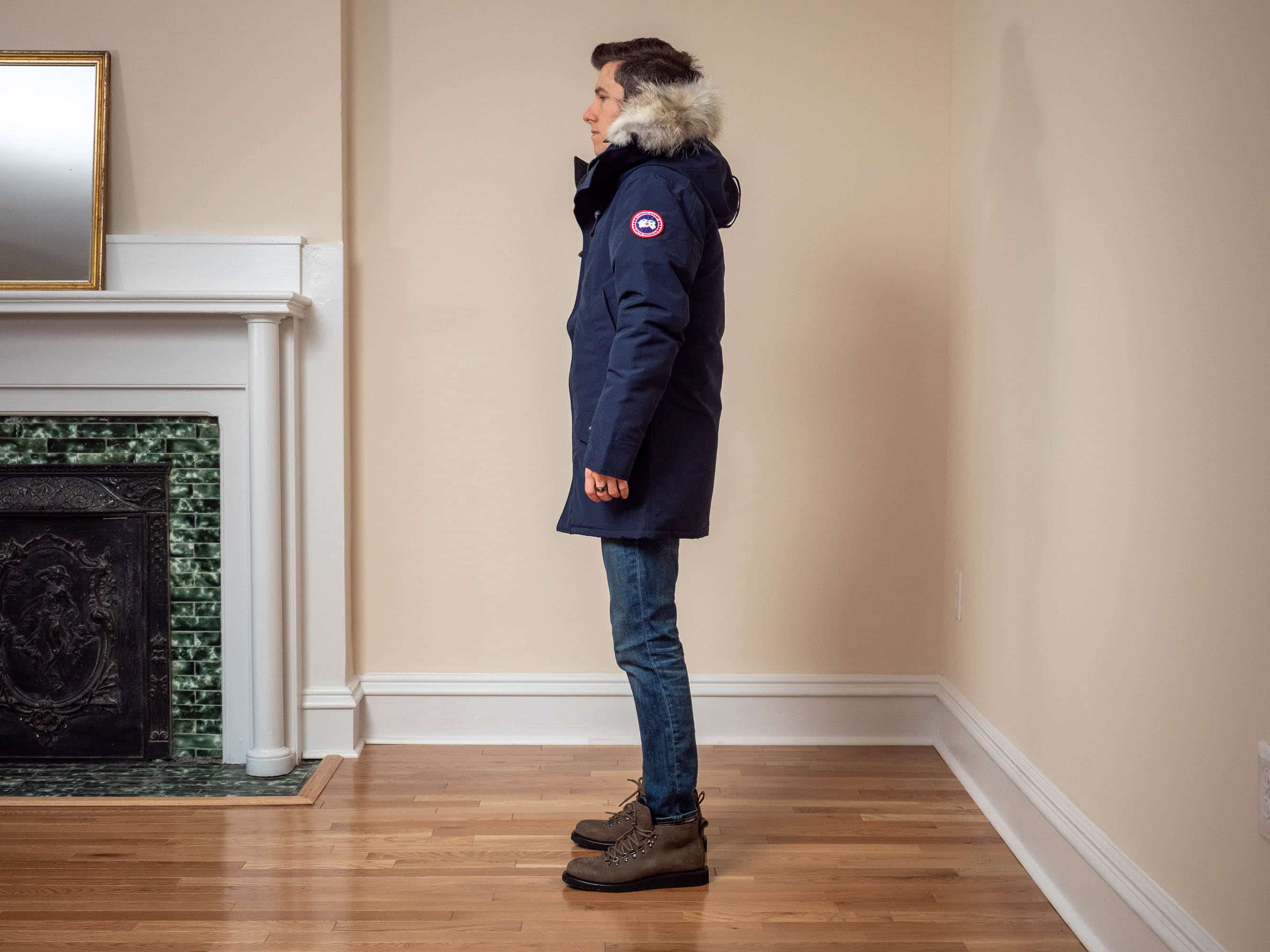 Canada Goose Fusion Fit side