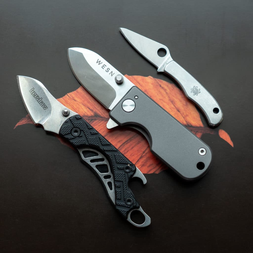 Compact EDC knives