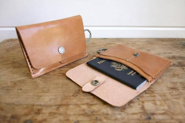 Corter Leather Travel Wallet