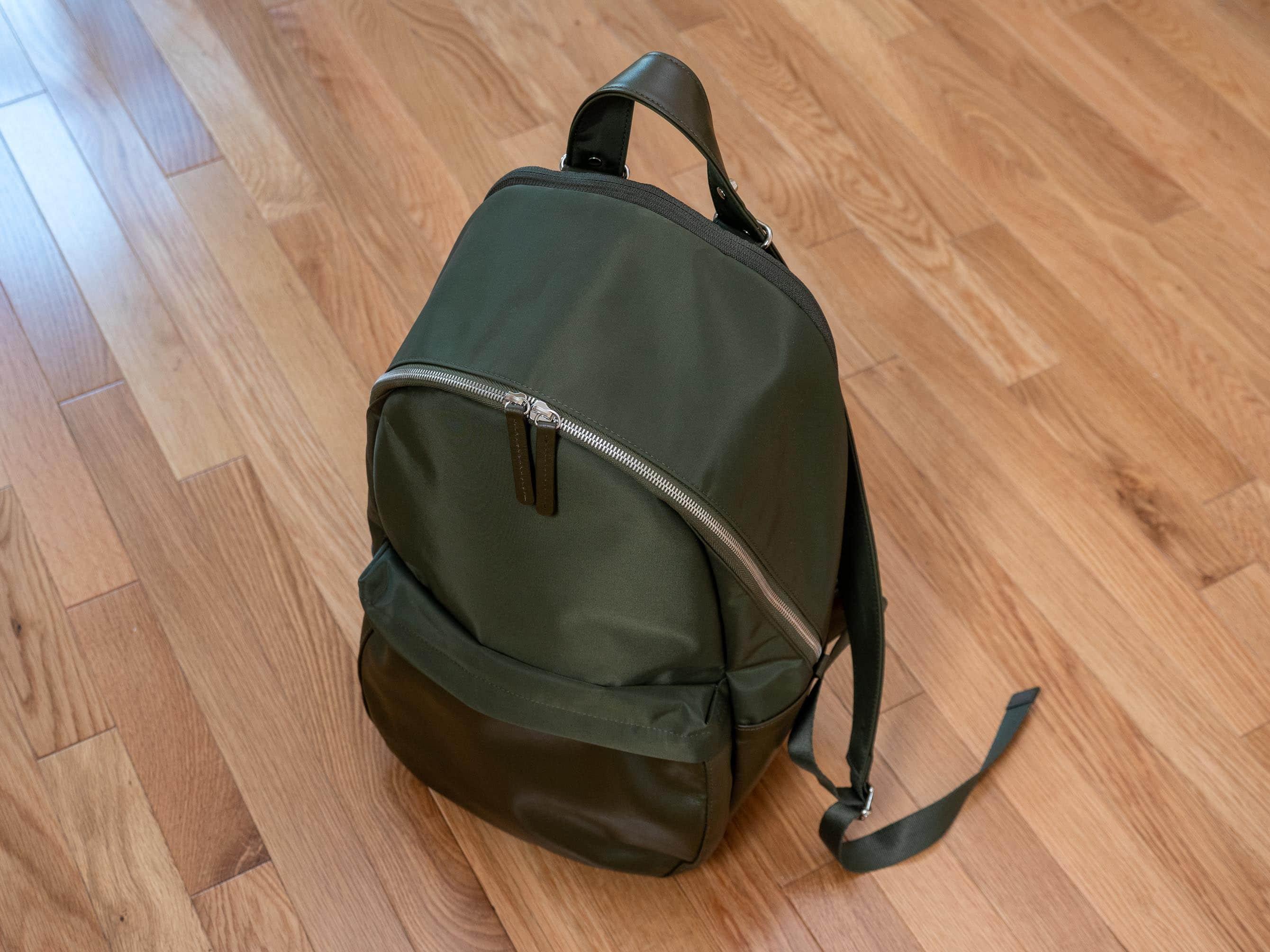 Haerfest Travel Backpack small nylon olive