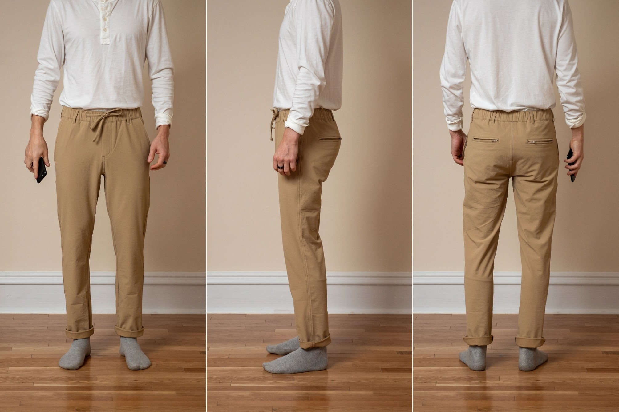Peter Manning Everywhere Pants khaki