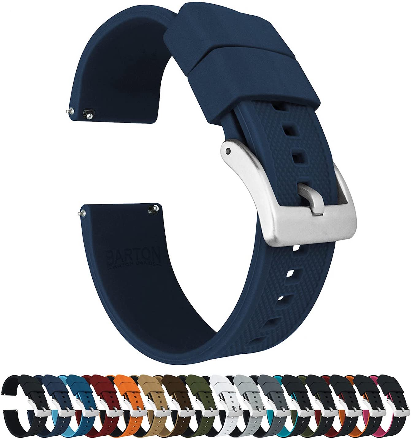 Barton Elite Silicone Watch Band
