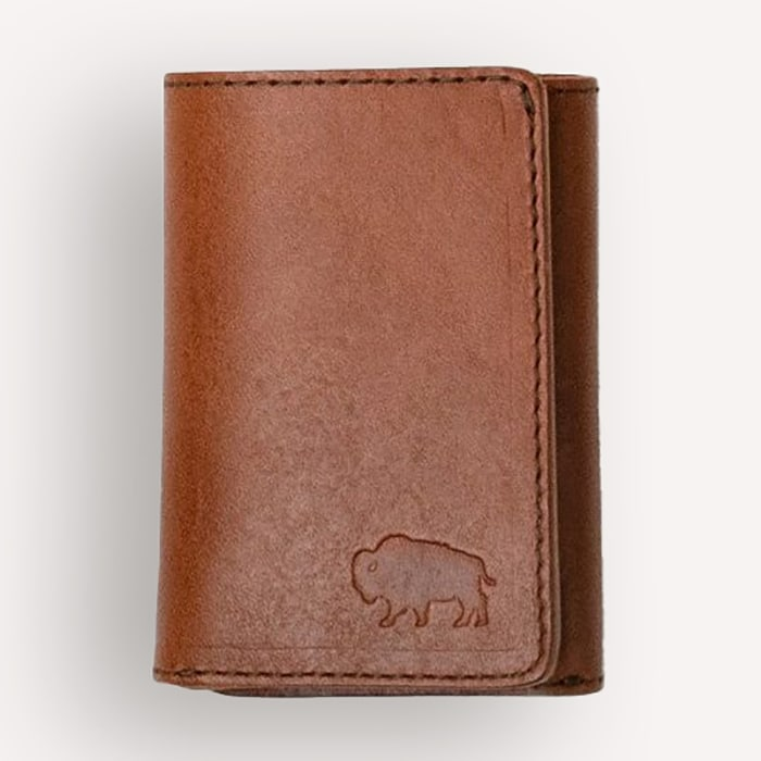 Buffalo Jackson Denver Leather Trifold Wallet