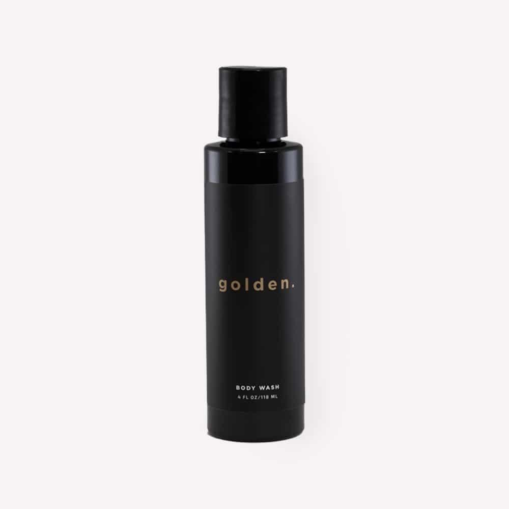 Golden Grooming Co. 3 in 1 Body Wash Beard Wash Shampoo