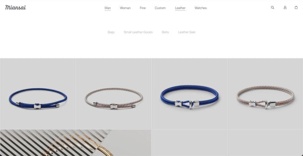 Miansai bracelets