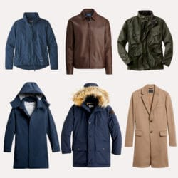 Minimalist outerwear collection