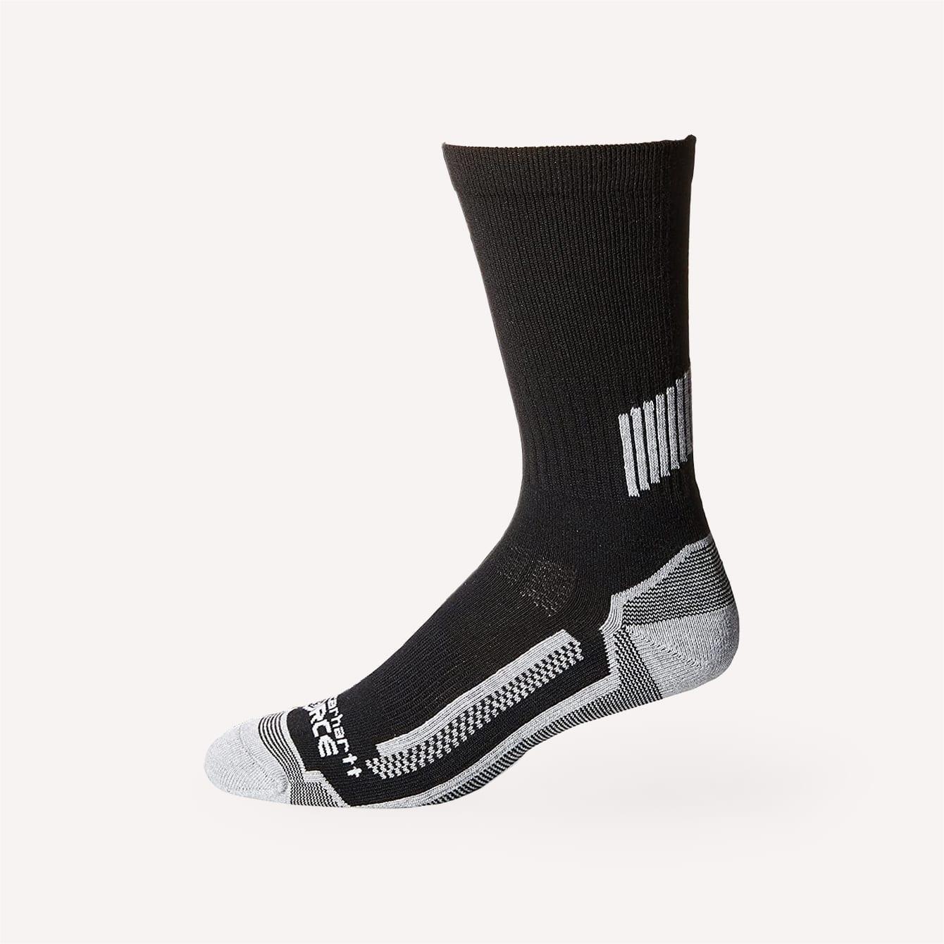 Carhartt Men's Force Performance Work Crew Socks