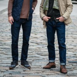 Dark wash jeans outfit ideas